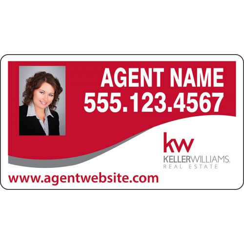 Keller Williams Car Magnets >> Keller Williams Car Magnet 10x18